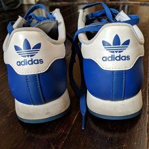 4e1118b1096 adidas Shoes - ADIDAS Originals Samoa Womens 6.5 leather blue